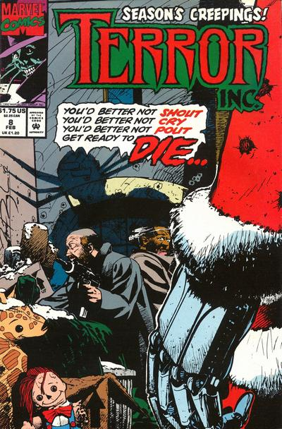 Cover for Terror Inc. (Marvel, 1992 series) #8