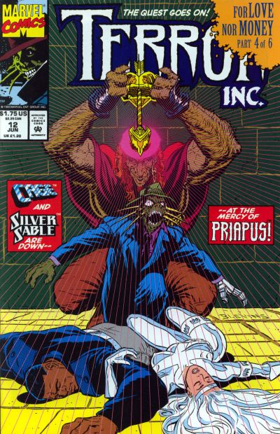 Cover for Terror Inc. (Marvel, 1992 series) #12