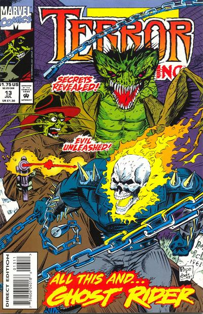 Cover for Terror Inc. (Marvel, 1992 series) #13