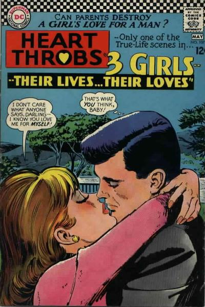Cover for Heart Throbs (DC, 1957 series) #107