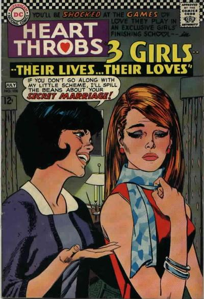 Cover for Heart Throbs (DC, 1957 series) #108