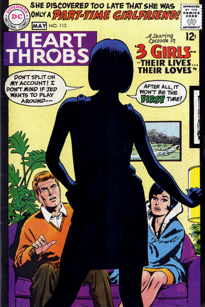 Cover for Heart Throbs (DC, 1957 series) #113