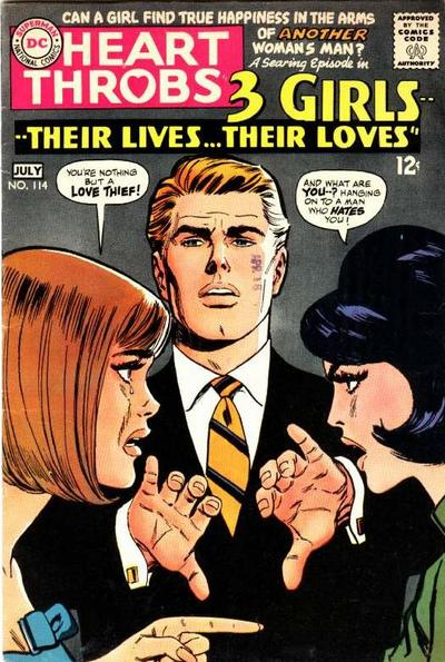 Cover for Heart Throbs (DC, 1957 series) #114