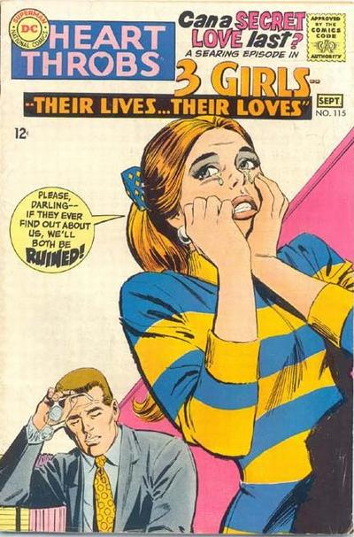 Cover for Heart Throbs (DC, 1957 series) #115