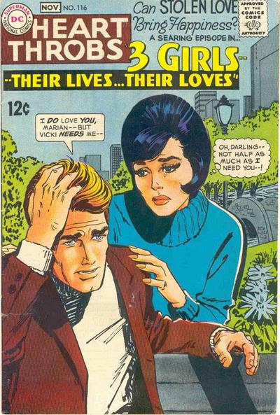 Cover for Heart Throbs (DC, 1957 series) #116