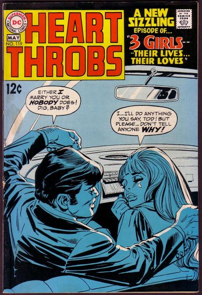 Cover for Heart Throbs (DC, 1957 series) #119