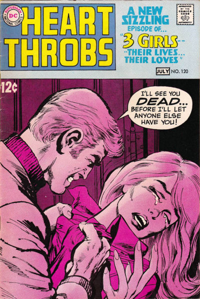 Cover for Heart Throbs (DC, 1957 series) #120