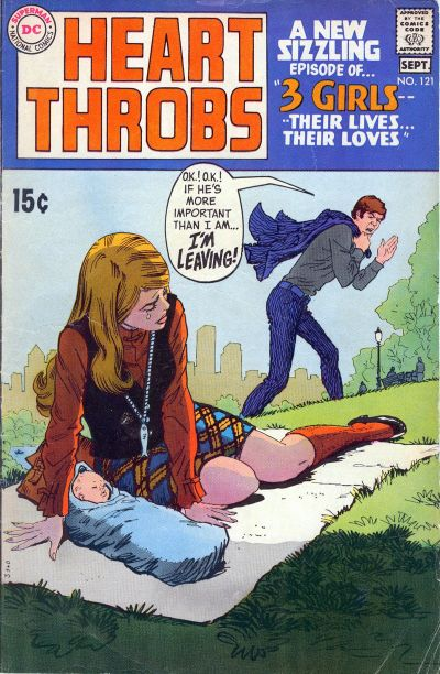 Cover for Heart Throbs (DC, 1957 series) #121