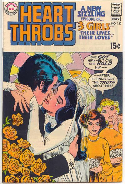 Cover for Heart Throbs (DC, 1957 series) #122