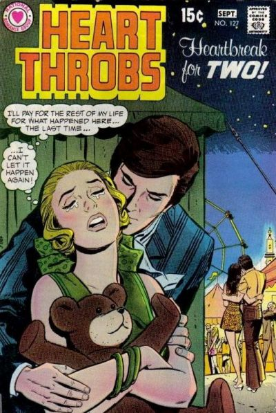 Cover for Heart Throbs (DC, 1957 series) #127