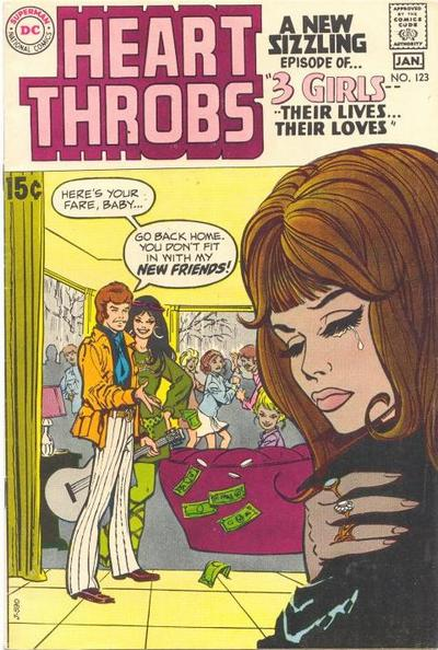 Cover for Heart Throbs (DC, 1957 series) #123