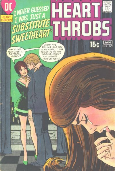 Cover for Heart Throbs (DC, 1957 series) #129