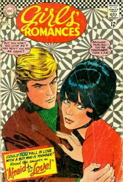 Cover for Girls' Romances (DC, 1950 series) #126