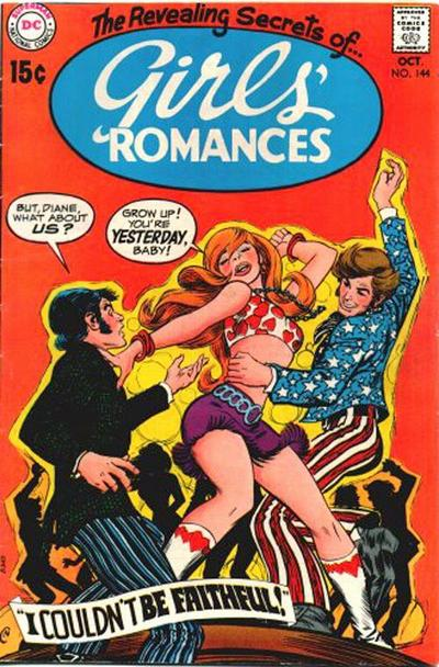 Cover for Girls' Romances (DC, 1950 series) #144