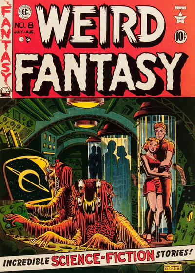 Cover for Weird Fantasy (EC, 1951 series) #8