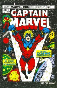 Cover for Captain Marvel No. 25 [Marvel Legends Reprint] (Marvel, 2006 series) #[nn]