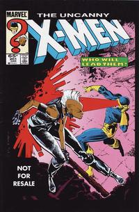 Cover Thumbnail for Uncanny X-Men No. 201 [Marvel Legends Reprint] (Marvel, 2005 series)