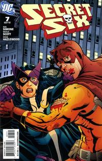 Cover for Secret Six (DC, 2008 series) #7
