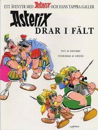 Cover Thumbnail for Asterix (Egmont, 1996 series) #6 - Asterix drar i fält
