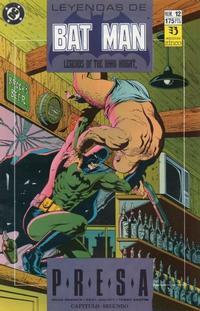 Cover Thumbnail for Batman: Leyendas (Zinco, 1990 series) #12