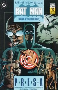 Cover Thumbnail for Batman: Leyendas (Zinco, 1990 series) #13