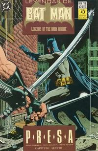Cover Thumbnail for Batman: Leyendas (Zinco, 1990 series) #15