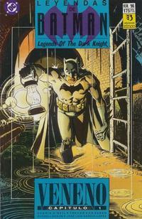 Cover Thumbnail for Batman: Leyendas (Zinco, 1990 series) #16