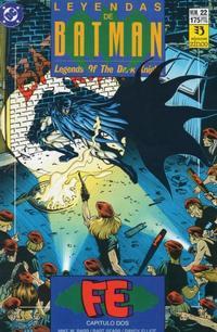 Cover Thumbnail for Batman: Leyendas (Zinco, 1990 series) #22