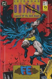 Cover Thumbnail for Batman: Leyendas (Zinco, 1990 series) #23