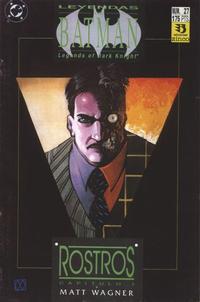 Cover Thumbnail for Batman: Leyendas (Zinco, 1990 series) #27