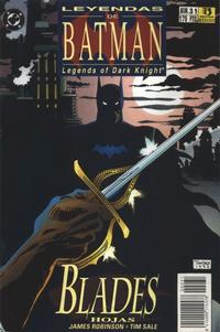 Cover Thumbnail for Batman: Leyendas (Zinco, 1990 series) #31