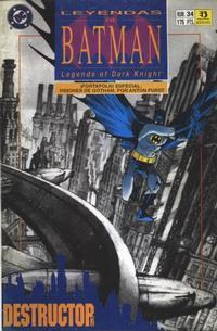 Cover Thumbnail for Batman: Leyendas (Zinco, 1990 series) #34