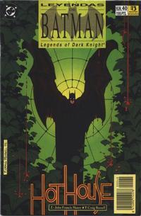 Cover Thumbnail for Batman: Leyendas (Zinco, 1990 series) #40