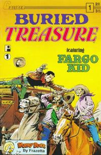 Cover Thumbnail for Buried Treasure (Caliber Press, 1990 series) #1