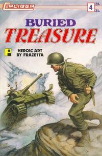 Cover Thumbnail for Buried Treasure (Caliber Press, 1990 series) #4