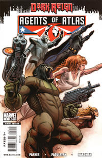 Cover for Agents of Atlas (Marvel, 2009 series) #2 [Variant Cover]