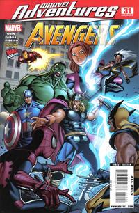 Cover Thumbnail for Marvel Adventures The Avengers (Marvel, 2006 series) #31