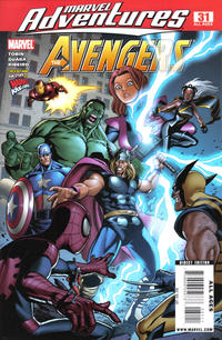 Cover for Marvel Adventures The Avengers (Marvel, 2006 series) #31