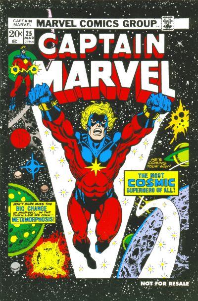 Cover for Captain Marvel No. 25 [Marvel Legends Reprint] (Marvel, 2006 series) #[nn]