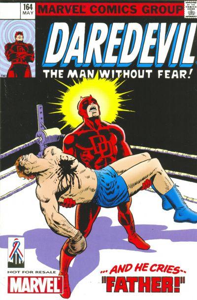 Cover for Daredevil No. 164 [Marvel Legends Reprint] (Marvel, 2002 series)