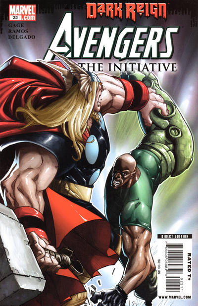 Cover for Avengers: The Initiative (Marvel, 2007 series) #22