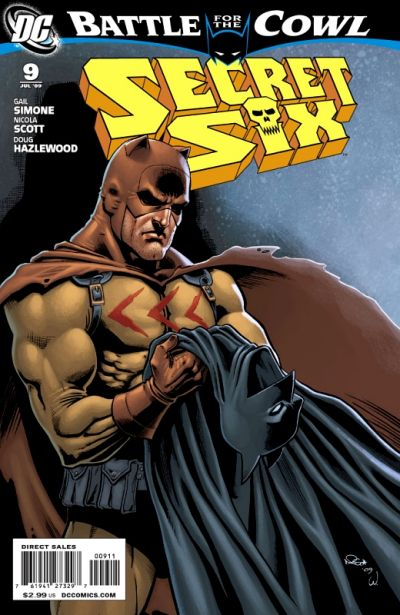 Cover for Secret Six (DC, 2008 series) #9