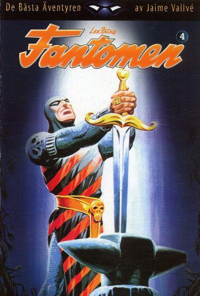 Cover for Fantomen: De bästa äventyren (Egmont, 2004 series) #4