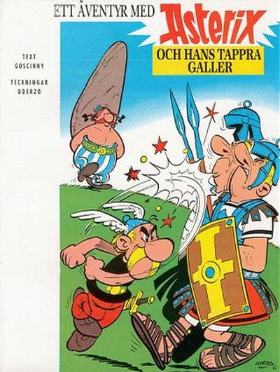 Cover for Asterix (Egmont, 1996 series) #1 - Asterix och hans tappra galler