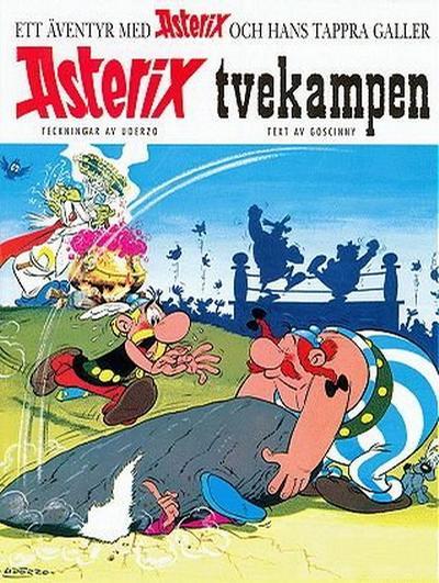 Cover for Asterix (Egmont, 1996 series) #4 - Tvekampen