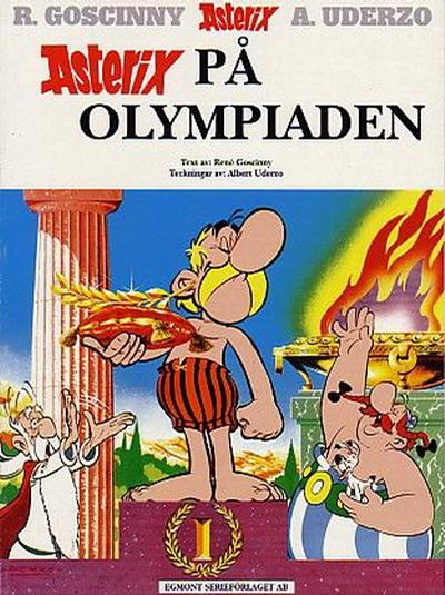 Cover for Asterix (Egmont, 1996 series) #8 - Asterix på olympiaden