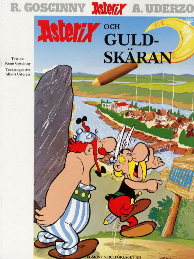 Cover for Asterix (Egmont, 1996 series) #10 - Asterix och guldskäran