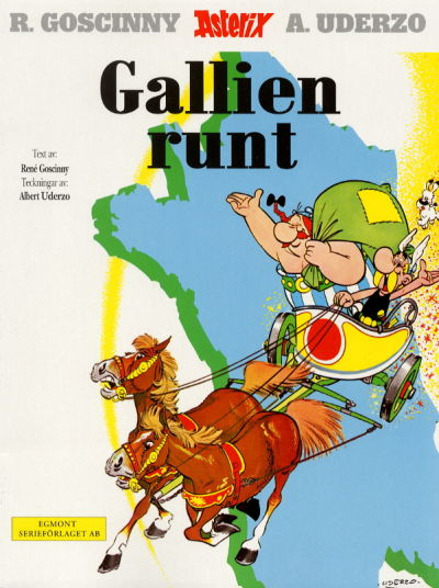 Cover for Asterix (Egmont, 1996 series) #12 - Gallien runt