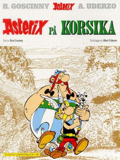 Cover for Asterix (Egmont, 1996 series) #20 - Asterix på Korsika