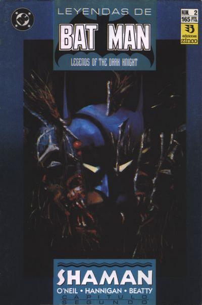 Cover for Batman: Leyendas (Zinco, 1990 series) #2